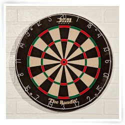 Bandit Pro Staple Free Bristle Dart Board