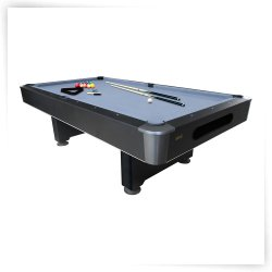 Mizerak Dakota 8 ft. Slatron Pool Table with Ball Return System