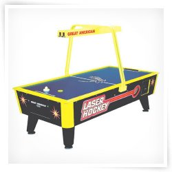 Great American 8' Laser Air Hockey Table