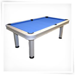 Imperial 7 ft. Non-Slate Outdoor Pool Table with Accessories