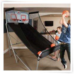 Lifetime Basketball Double Shot Arcade System