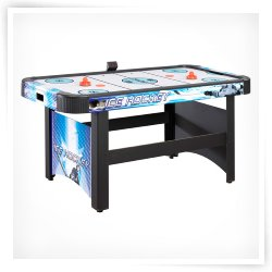 Hathaway Face-Off 5 ft. Air Hockey Table with Electronic Scoring